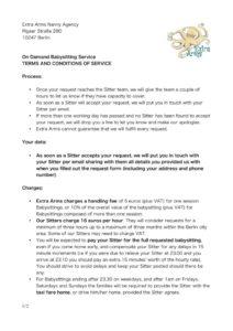 thumbnail of On Demand Babysitting T&Cs for Website