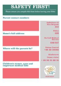 thumbnail of Sitter Info Sheet